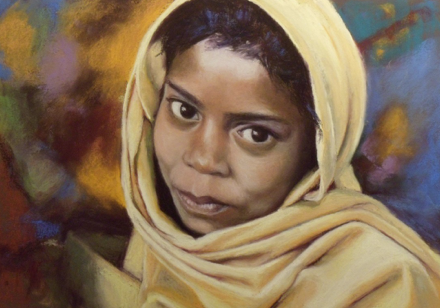 Painting of Mushar Child